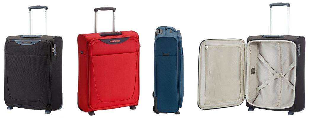 Samsonite Base Hits Upright Lightweight Suitcase