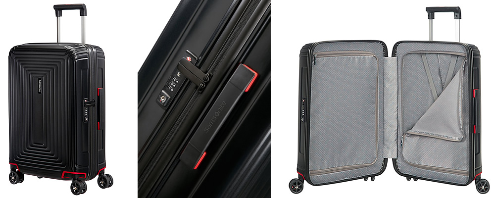 Samsonite Neopulse 4 Wheel Spinner Suitcase