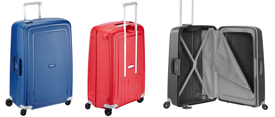 Samsonite Trolley S'Cure Hard Shell Suitcase