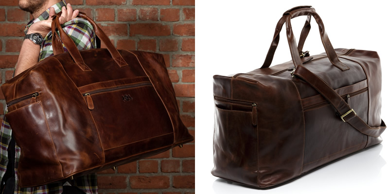 Scotch & Vain Bristol Weekend Holdall Bag