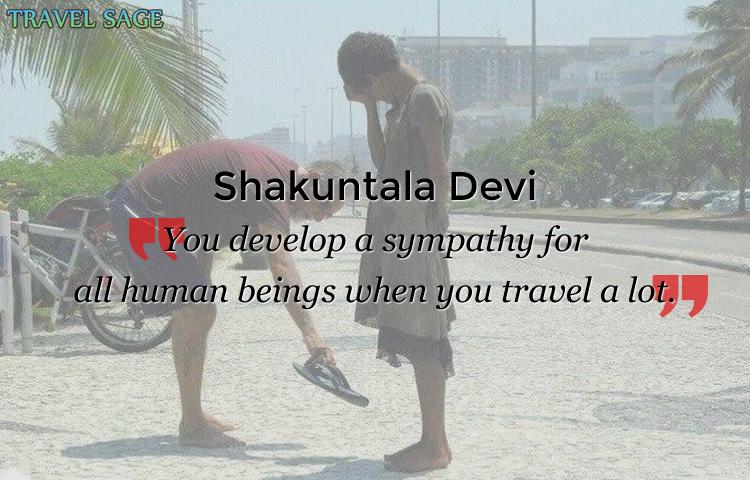 shakuntala - sympathy for all human brings