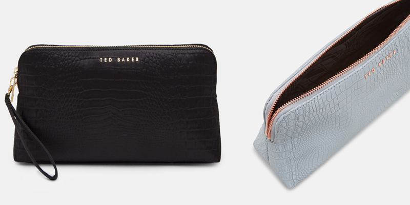 Ted Baker LOULOU Textured Wash Bag For Women