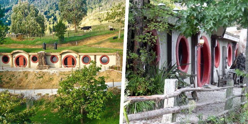 The Hobbit Motel, Waitomo, New Zealand