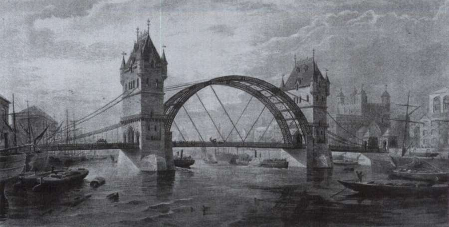 London Tower Bridge's Original Design