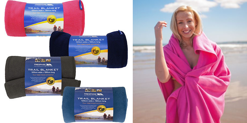 Trespass Snuggles Travel Blanket