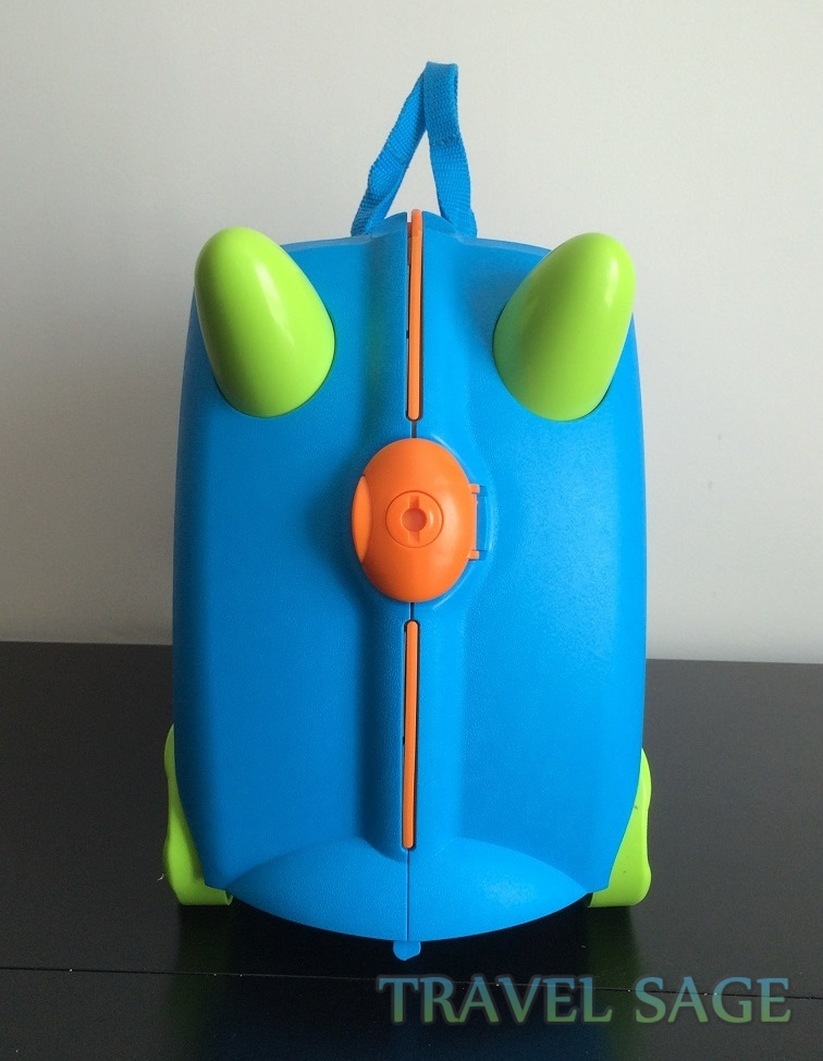 Trunki Ride-On Kids Suitcase Review Front