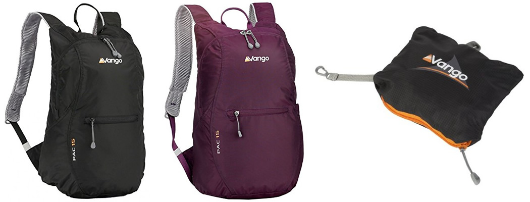 Vango Pac 15 Packable Small Backpack